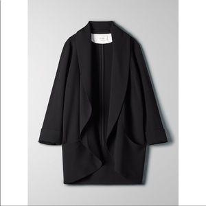 Wilfred Chevalier Jacket / size 4 / black Aritzia